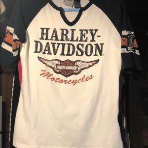 Harley Davidson Tshirt 1/2 sleeve